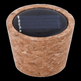 Solar light cork