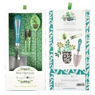 NEW Brie Harrison Trowel, Snips and Label Set