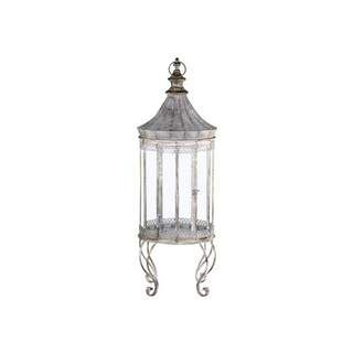 Vire Lantern on foot w. decor