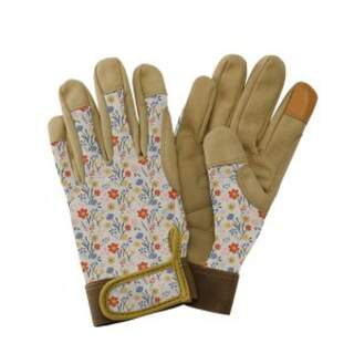 Premium Comfort Gloves - Meadow Flowers Small