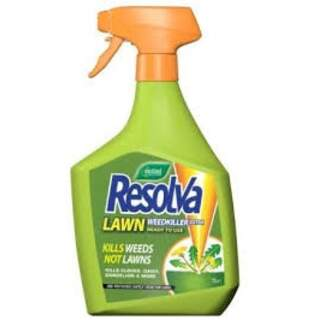 Resolva Lawn Weedkiller Extra 1L RTU (Contains Dicamba and Mecoprop-p)