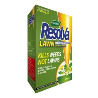 Resolva Lawn Weedkiller Extra 500ml  Concentrate (Contains Dicamba and Mecoprop-p)