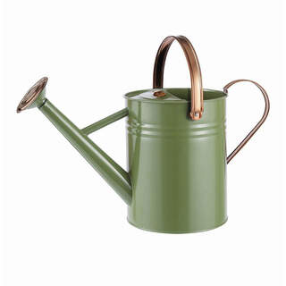(NEW) Gardman Metal Watering Can - Heritage Tweed