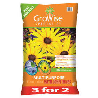 Growise MP with john innes 3 for 2