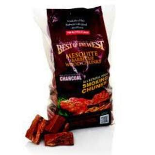 Best of The West Mesquite Wood Chunks - 2.7Kgs