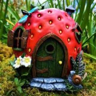 Solar Fairy House Large