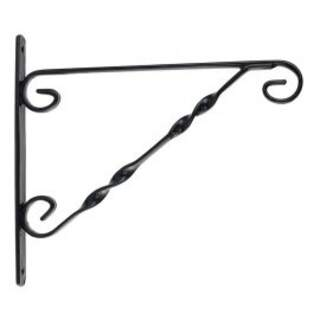 Gardman Hanging Basket Bracket Black 14-16""