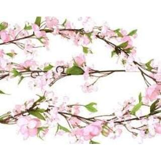 Cherry blossom garland  Colour: pink